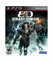 Binary Domain (Sony PlayStation 3, PS3, 2012) Complete - $11.87