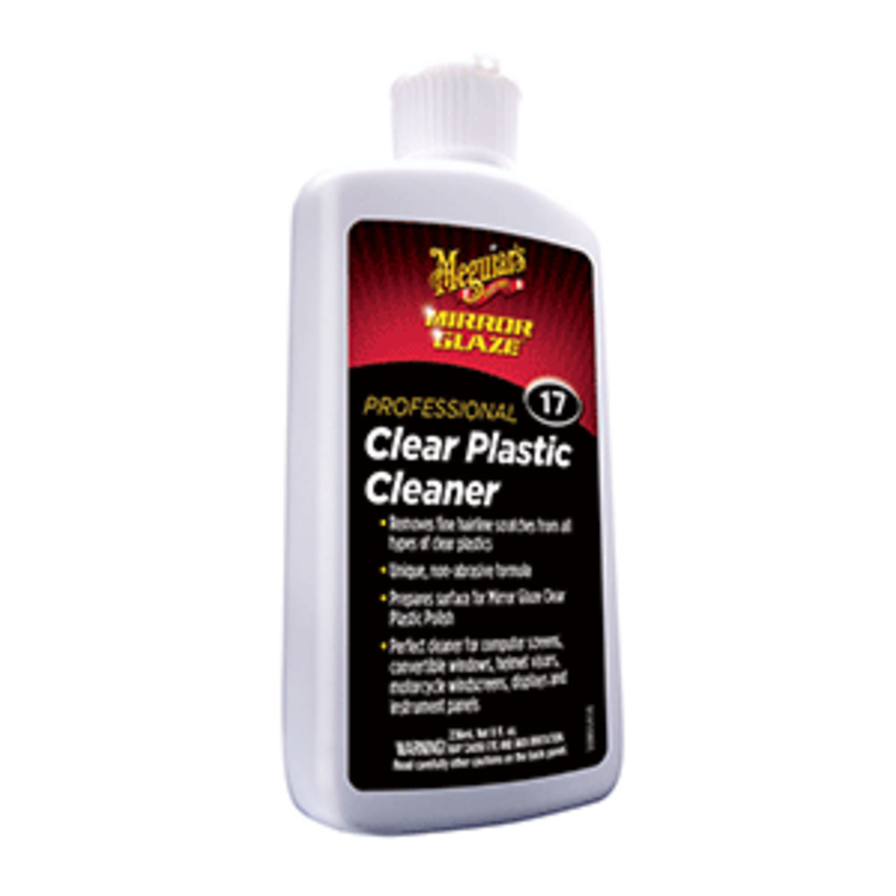 Primary image for Meguiar and #39;s M17 Mirror Glaze Clear Plastic Cleaner - *Case of 6*