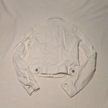 Mudd White Small Cotton Denim Jacket D116 - $14.85