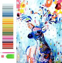 AidaBeauty Deer 5D DIY Diamond Painting Kits for Adults, Diamond Art Pai... - $18.80