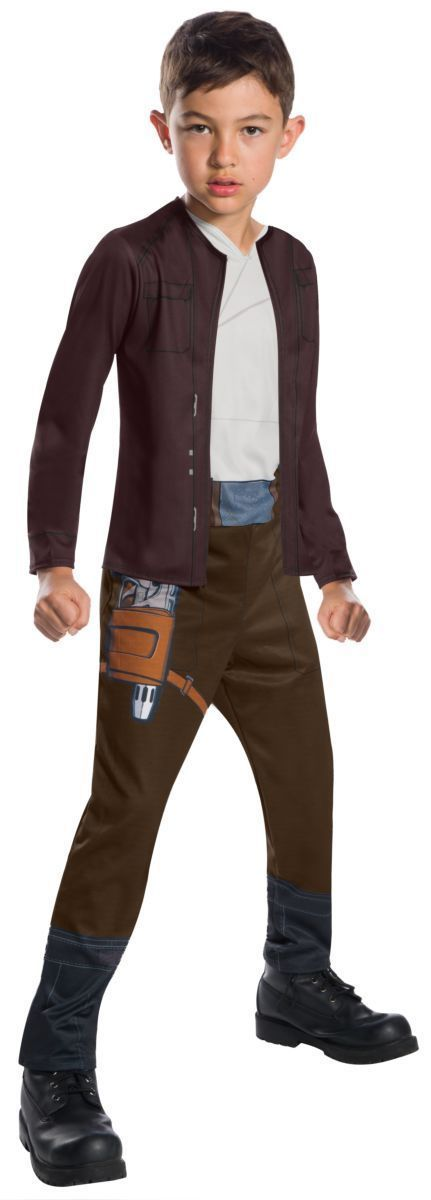 Rubies Star Wars Poe Dameron The Last Jedi Niños Disfraz Halloween 640106