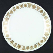 1970's Vintage Large Dinner Plate in The Butterfly Gold Pattern (Corelle... - $9.99