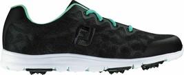 NEW! FootJoy [7.5] Medium enJoy Women's Golf Shoes 95705-Black - $108.78
