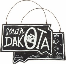 South Dakota State Shape Ornament Primitives by Kathy Black Wood - $7.95