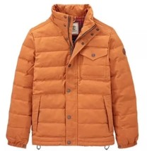 TIMBERLAND MEN'S MT DAVIS WAXED DOWN JACKET, Wheat . SIZE: EXTRA LARGE - $175.00