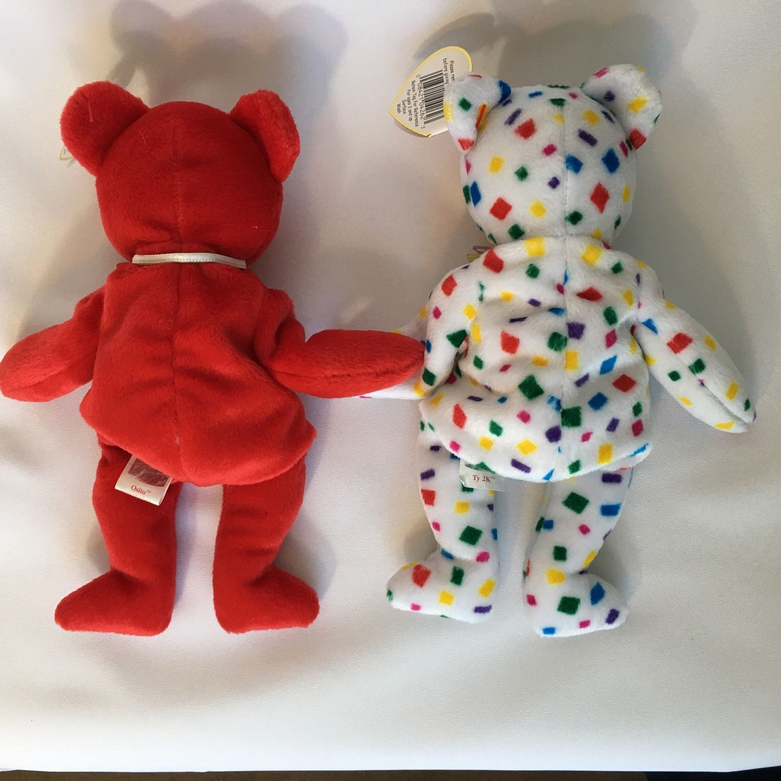 8 Ty Beanie Babies Teddy Bears Lot With Tags Maple The Beginning End Ariel  Plush 4099cab42a6b