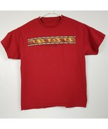 Yellowstone National Park Red Tee T-Shirt Size Large EUC - £11.68 GBP