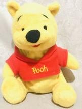 "Winnie The Pooh Disney Bean Pellet Plush Bear Collectible 7"" - $13.36"