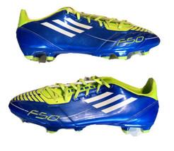 Adidas Mens Rare F30/F50 TRX FG G40257 Purple Neón Green Soccer Cleats Size 13 - $138.59