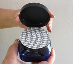 18 Beauty Containers Plastic Square Jars w/ Pressure Sensitive Seal 4 oz... - $33.95