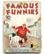 Famous Funnies #31 1937- Buck Rogers- Early Comic- Alley Oop LOW GRADE - $63.05