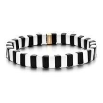 ZMZY New Fashion Boho Enamel Colour Unisex Stretch Bracelets Colorful Bangles fo - $20.29
