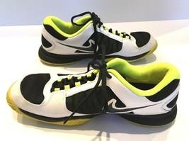 Nike Zoom CourtLite 3 Tennis Shoe Sneaker 2012 Ortholite Yellow Black White 10 - $34.89