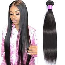 AUTTO Hair Unprocessed Brazilian Virgin Hair Straight Hair One Bundle 24inch Che