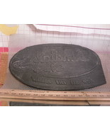Flexographic Printing Plate Rubber Stamp - Sundial Shoes - $8.55