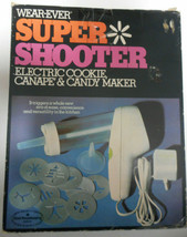 WEAREVER SUPER SHOOTER 70001 Food Gun Cookie Canape Candy Maker & Instru... - $49.99
