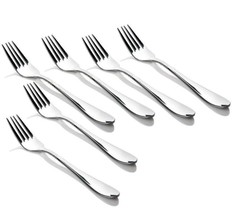 Stainless Steel Cutlery Small Fork set of 12 Free Shipping - $32.66