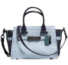 NWT COACH 12120 Swagger 27 in Colorblock Leather MSRP $450.00 - $252.45