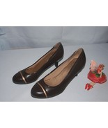 Life Stride Petunia Dress Pumps Brown NWOB Size 7.5M - $14.80