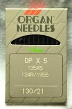 Organ Industrial Sewing Machine Needles 130/21,135X5-130 - $5.64