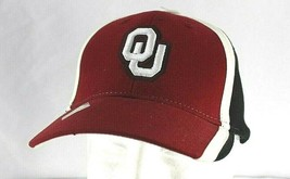 University of Oklahoma Sooners Red/Black/White Baseball Cap Adjustable  - $24.99