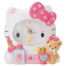 Hello Kitty Decorative Clock SANRIO JAPAN Limited Rare Gift Cute - $74.45
