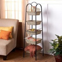 5-Tier Seagrass Basket Tower - $56.47