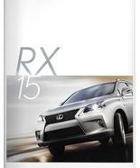 2015 Lexus RX 350 F SPORT 450h HYBRID brochure catalog 15 US - $8.00