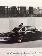 Vtg 1963 Print Ad Chrysler Imperial - $9.89