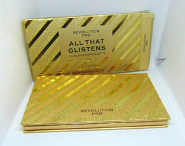 REVOLUTION PRO ALL THAT GLISTENS Luxe Eyeshadows Palette 18 x 0.035oz/1g... - $28.47