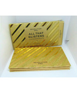 REVOLUTION PRO ALL THAT GLISTENS Luxe Eyeshadows Palette 18 x 0.035oz/1g... - $35.59