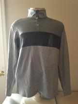 Calvin Klein Men's Colorblocked Quarter-Snap Sweater 2166 size L - $53.46