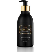 Gorgeous Argan Oil Shampoo Gold Label New Improved Pump - $9.49