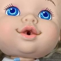 Vintage Hasbro Doll Baby Uh Oh 13 Inch Drinks Wets Blonde Hair Blue Eyes... - $19.99