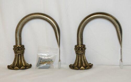 Kirsch Regency Collection 60110787 Antique Gold Beaded Trumpet Holdbacks
