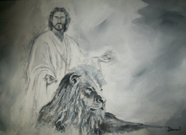 ACEO Jesus Religous Art -: rdoward fine art - $5.94