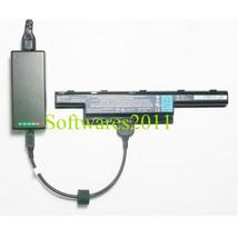 External Laptop Battery Charger Gateway NV55C NV59C NV73A NV79 TravelMat... - $59.88