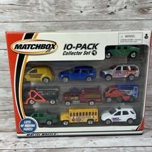 Vintage Matchbox 10-Pack Die-cast Car Collector Set #1 2001 - $27.67