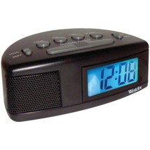 Westclox 47547 Super Loud LCD Alarm Clock with Blue Backlight - $28.53