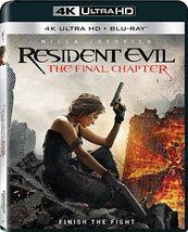 Resident Evil: The Final Chapter (4K Ultra HD + Blu-ray, 2017)