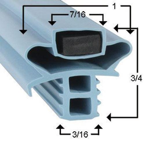 Delfield Compatible Gasket F15SR72D Part# (170-1183) - $33.81