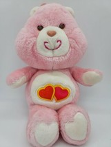 Vintage 1983 Kenner Care Bear Pink Plush Love A Lot American Greetings 1... - $19.99