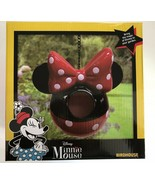 NEW DISNEY Minnie Mouse Hanging Garden BirdHouse Feeder 7 x 5 x 15 in - $27.71