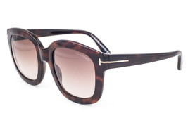 Tom Ford Christophe Dark Havana / Brown Gradient Sunglasses TF279 50F image 1