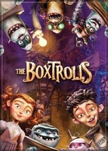 The BoxTrolls Animated Movie Cast with Name Logo Refrigerator Magnet NEW... - $3.99