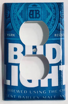 Budweiser Bud Light Beer Switch Toggle Rocker Power Outlet Wall Cover Plate image 2