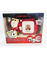 Santa claus digital photo frame nextar 8 MB figurine christmas color pic... - $17.81