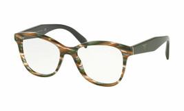 Prada Rx PR12TV VAO1O1 51 Sheaved Grey Brown Women Eyeglasses  51mm - $376.20