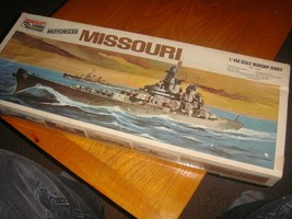 Vintage Missouri Motorized Minicraft Ship Model 1/450 - $39.60