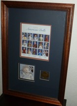AMERICAN DOLLS STAMP COLLECTION First Day Issued 1997,  USPS Framed. - $35.17